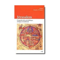 Jérusalem Un guide de la cité biblique, antique et médiévale