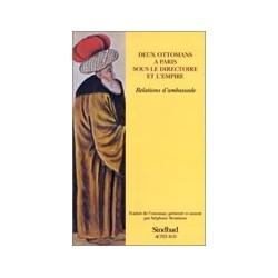Deux ottomans à Paris sous le directoire et l'empire -