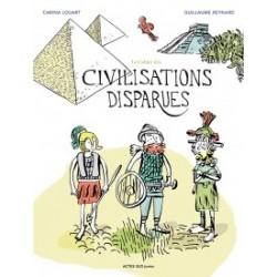 Le cahier des civilisations disparues