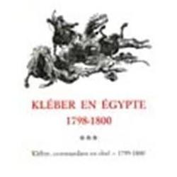 Kléber en Egypte Tomes I à IV