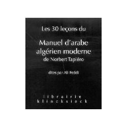Les 30 leçons du Manuel d'arabe algérien moderne