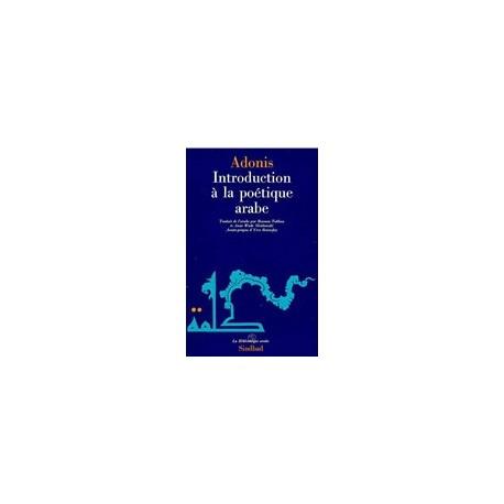 Introduction à la poétique arabe