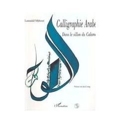Calligraphie arabe dans le sillon du calame