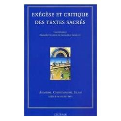 Exégèse critique des textes sacrés